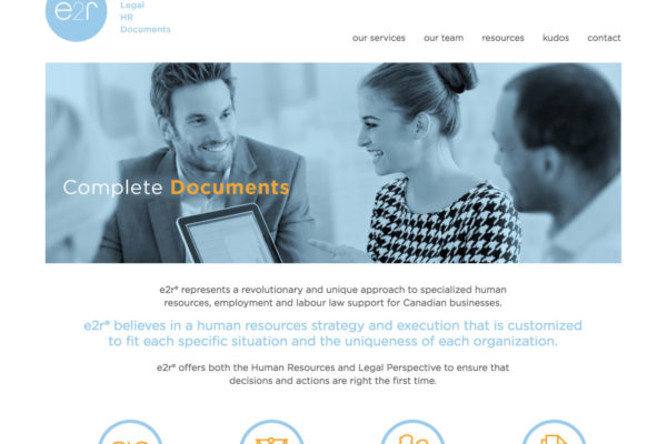 Law Website Design Toronto
