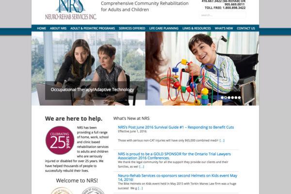 Rehab Websites Toronto