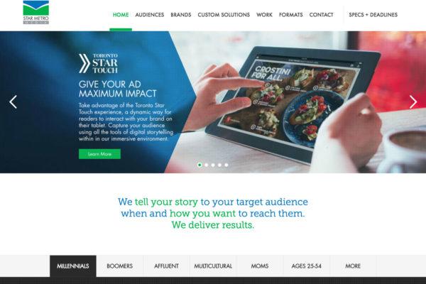 Custom Website Development GTA